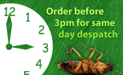 Order before 3pm for same day despatch on in-stock items