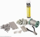 Surface Mount Kit for Pigeon Post and Wire
