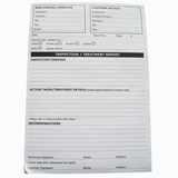 Treatment Report Pads