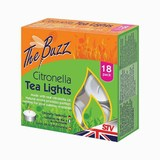 Citronella Tea Lights - 18 pack.